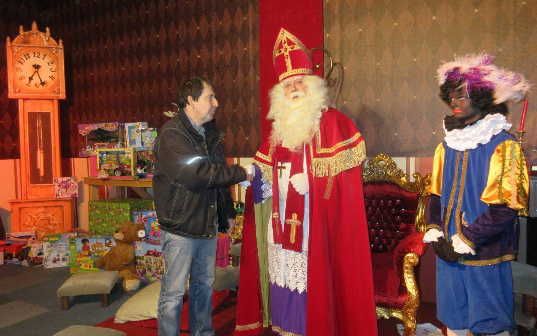 Het huis van Sinterklaas.