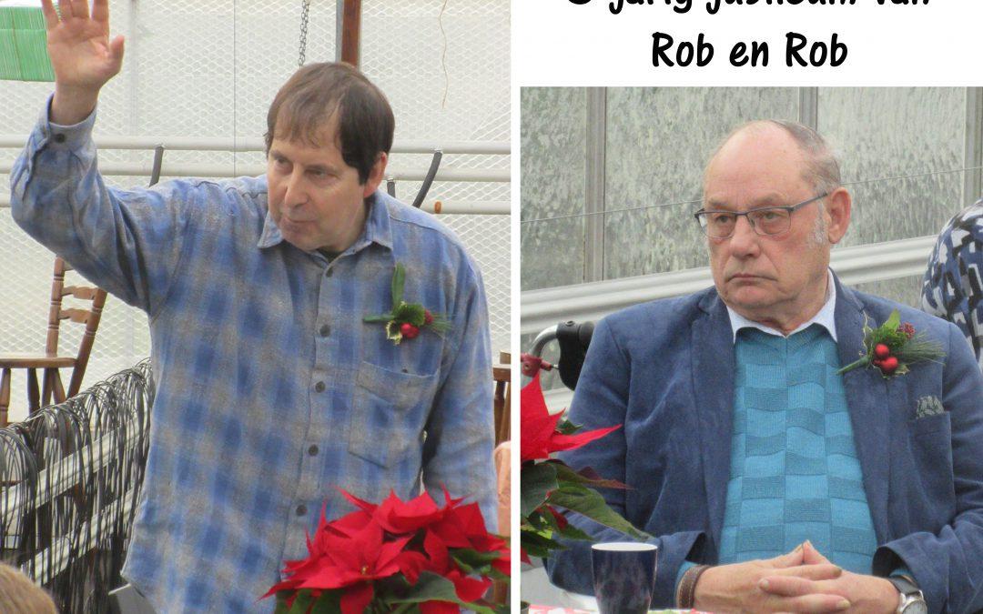 jubileum Rob en Rob